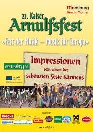 Arnulfsfest Nachlese - Marktgemeinde Moosburg