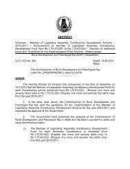 Member of Legislative Assembly Constituency ... - Tnrd.gov.in
