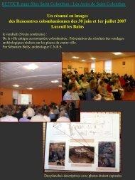 Les Rencontres colombaniennes le 30 juin 2007. - L'association des ...