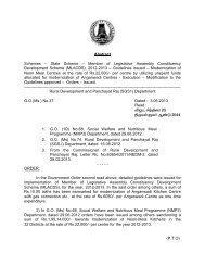 Member of Legislative Assembly Constituency Development Scheme