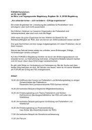 Liebe Genossinnen und Genossen, - PDS Sachsen-Anhalt