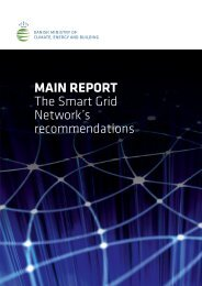 The Smart Grid Network's recommendations