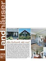 Land häuser - FLOCK Haus