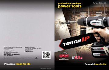 Panasonic-Power Tool Catalog-2013 - Target Sales