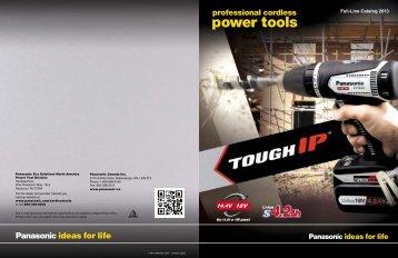 Panasonic-Power Tool Catalog-2013 - Target Sales