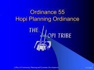 Ordinance 55 Hopi Planning Ordinance