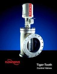 Tiger-Tooth control valve - PRO-QUIP
