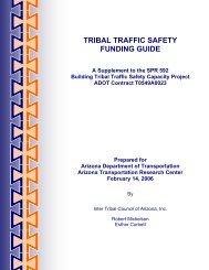 Funding Guide - Arizona Tribal Transportation