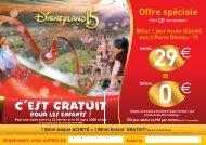 C'est Gratuit pour les enfants - Disneyland® Paris