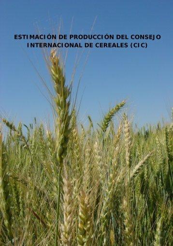 evolucion produccion cereales mundo CIC 06-09 - Cooperativas ...