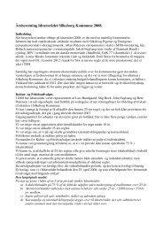 Beretning for året 2008 - Idrætsrådet Silkeborg Kommune