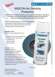 Alu Grinding Protection - Weicon.com