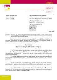 Circolare 2/2009 - Fondo Pegaso