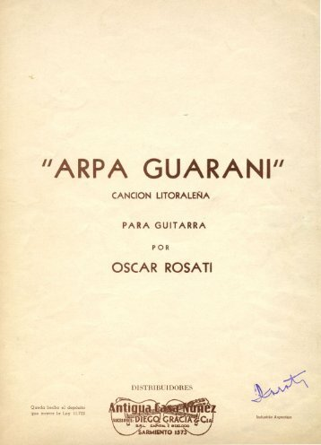 Arpa Guarani (Cancion Litoraleña) - Just Classical Guitar Club