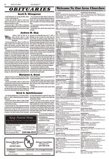 OBITUARIES - News Hopper