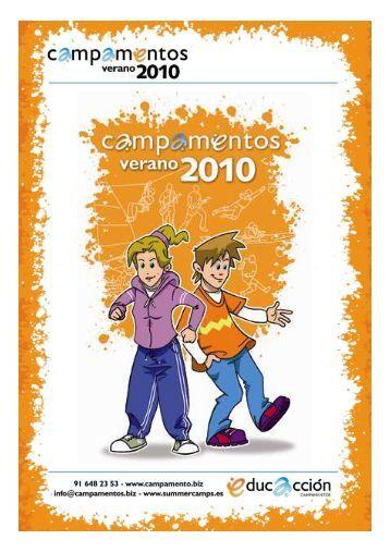 guía de campamentos de verano del 2010 - Tinet