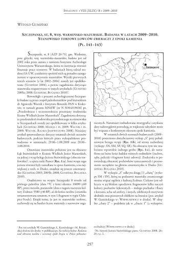 Wzor A,B-tekst - Instytut Archeologii Uniwersytetu Warszawskiego ...