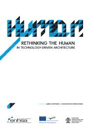 International Conference Rethinking the Human in ... - ENHSA
