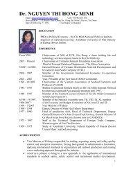 Dr. NGUYEN THI HONG MINH