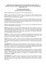 Regolamento del Parco di Monte Orlando - Parchi e Riserve naturali ...