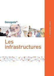 les infrastructures - Genopole