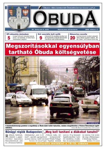 Óbuda újság 2009/6. szám - Óbuda-Békásmegyer
