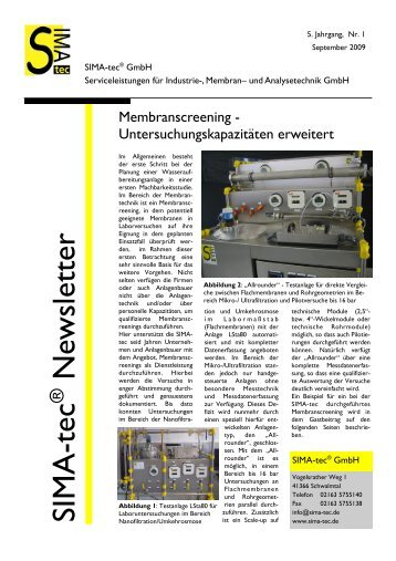 Newsletter 7 - SIMA-tec