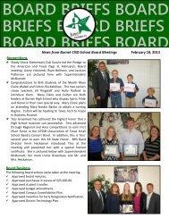 board briefs board briefs board briefs board briefs board - Burnet CISD