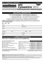 Bulletin d'inscription PDF - Alpha Visa Congrès