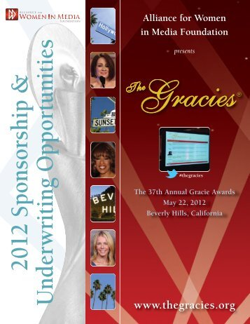 2012 Sponsorship & Underw riting O pportunities - The Gracies