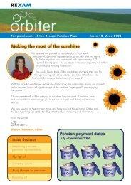 Orbiter June 2006 - Home page DB Plan
