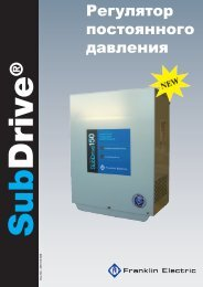 SubDrive DS Russ - Franklin Electric Europa
