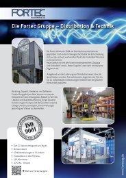 Die Fortec Gruppe – Distribution & Technik - Fortec AG