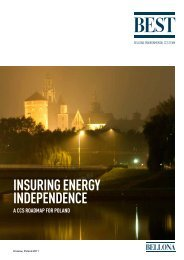 INSURING ENERGY INDEPENDENCE - Bellona