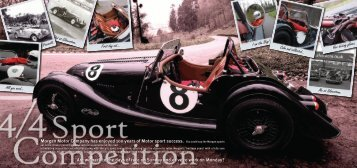 Morgan Motor Company has enjoyed 100 years of Motor sport ...