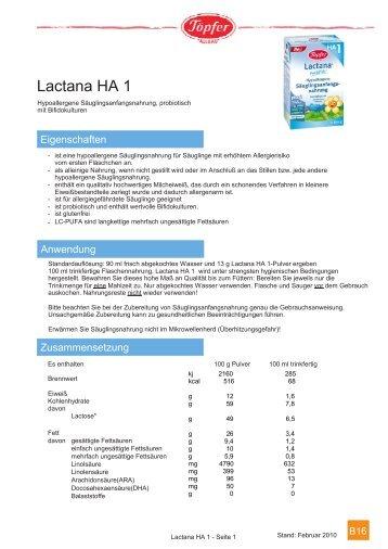 Lactana HA 1