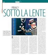 Privacy sotto la lente - Wellcome