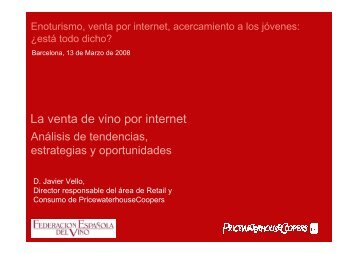 La venta de vino por internet