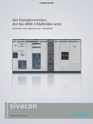 SIVACON S8 - Franke + Pahl