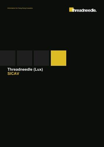 Threadneedle (Lux) SICAV - Threadneedle - Investments