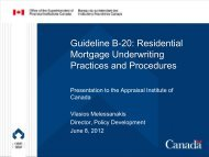 Residential Mortgage Underwriting Practices and Procedures