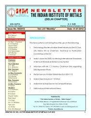 31 July 2012 - IIM