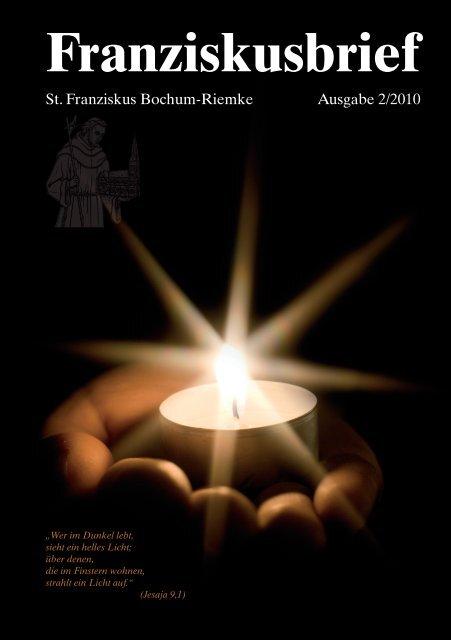 Franziskusbrief - St. Franziskus Bochum-Riemke