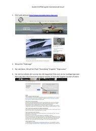 Guide til ECPNet og det Internationale forum 1. GÃ¥ til web adressen ...