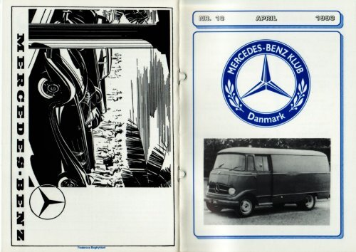 Untitled - Mercedes-Benz Klub Danmark