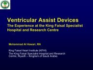 Ventricular Assist Devices - RM Solutions