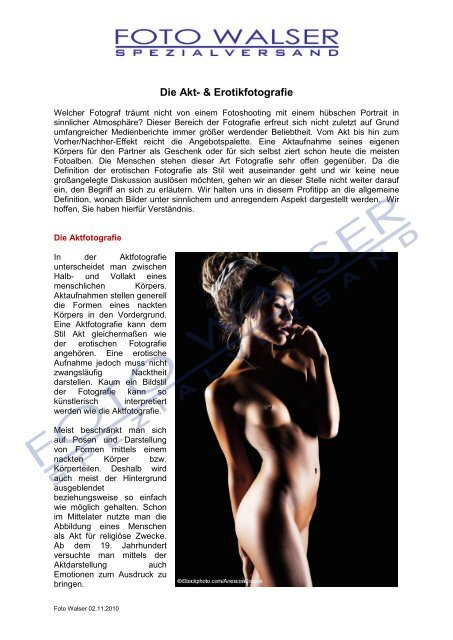 aktfoto modelle