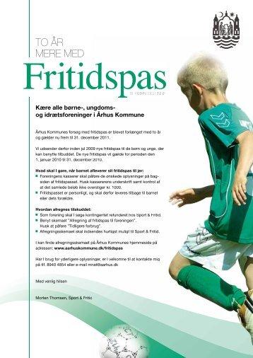 Infobrev, til foreninger (.pdf) - AGF Udspring