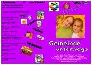 Gemeinde unterwegs 2-2008 - Evangelische Schaustellerseelsorge