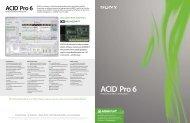 ACID® Pro 6